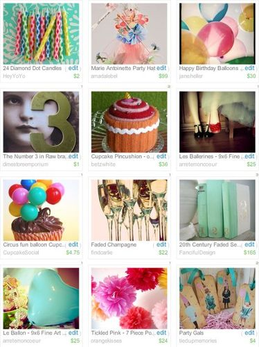 Birthday treasury