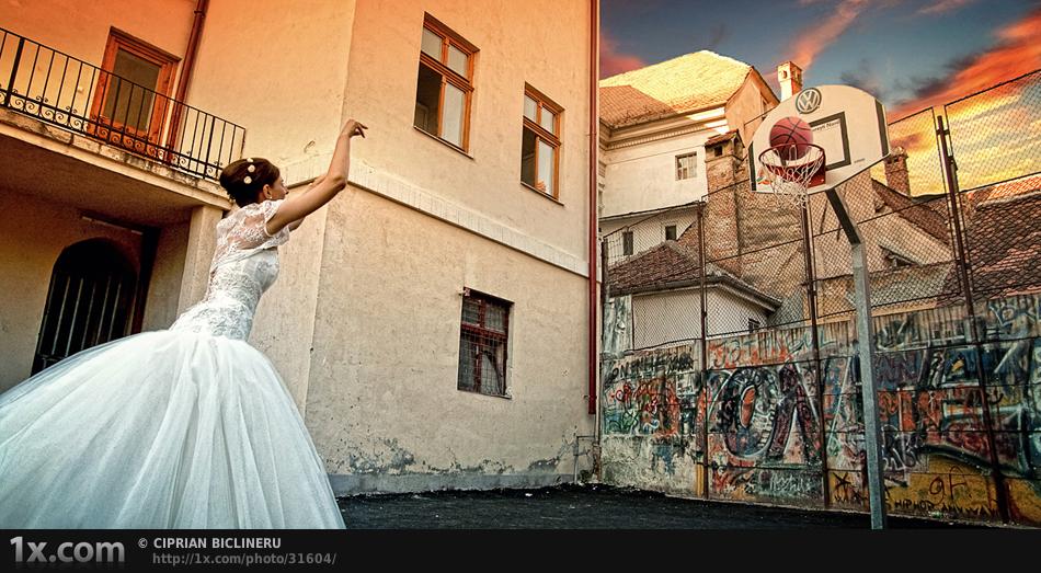Bball bride