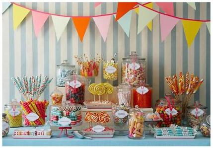 Carnival sweet table
