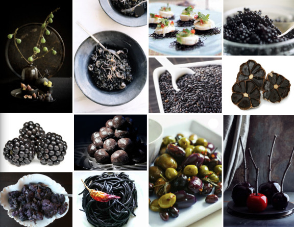 halloween party inspiration dark food the brass paperclip project