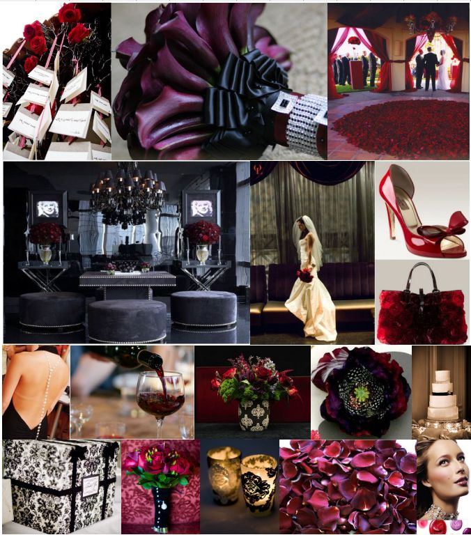 Black-white-red-and-purple-wedding-inspiration-board-