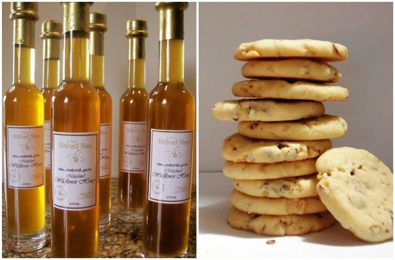 honey, bees, save the bees, honeybee, honey almond cookies, wildflower honey, green weddings, earth friendly, eco chic, weddings