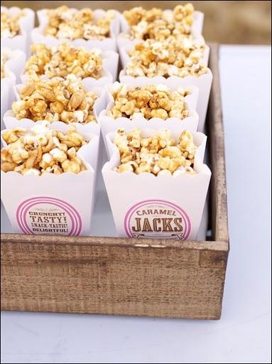 kettle corn popcorn bags vintage old fashioned fair food