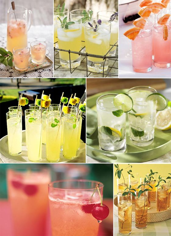 summer drinks coolers pink lemonade