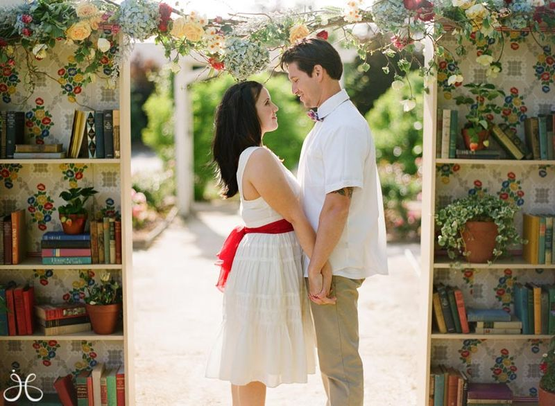 Vintage-library-book-wedding-photos-10