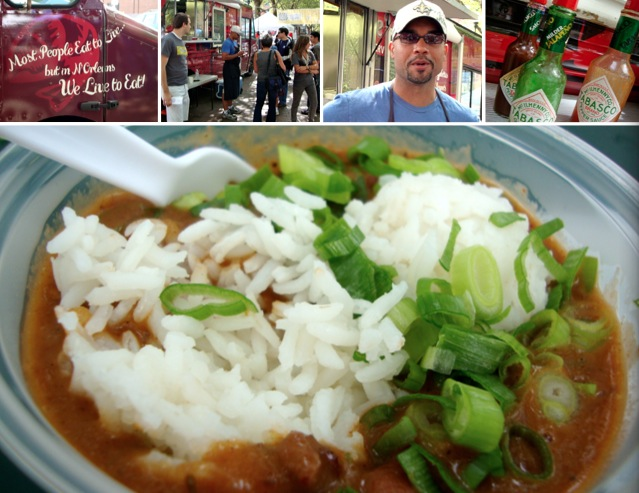 Where Ya At Matt, NOLA, street food, red beans and rice, creole soul food, Seattle Square Market, Seattle