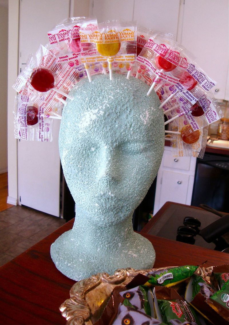 Lollipop Head, Halloween, Trick or Treat