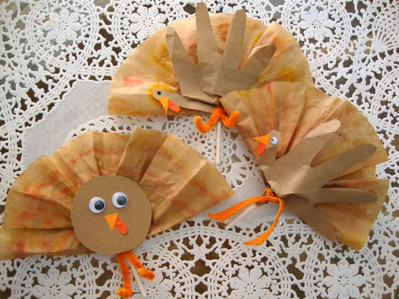 Gobble Pops! Thanksgiving Turkey Lollipop Favors