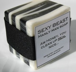 Sexy Beast Manly Man Soap