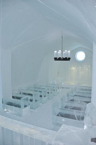 Ice Church at IceHotel, Sweden
