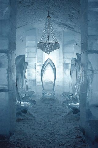 IceHotel Lobby, Sweden