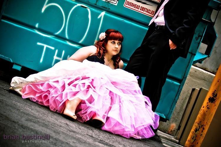 Cotton Candy Pink Dyed Wedding Crinoline