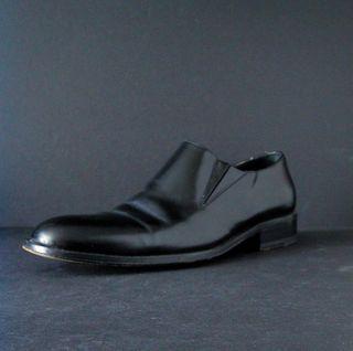 black men's shoe