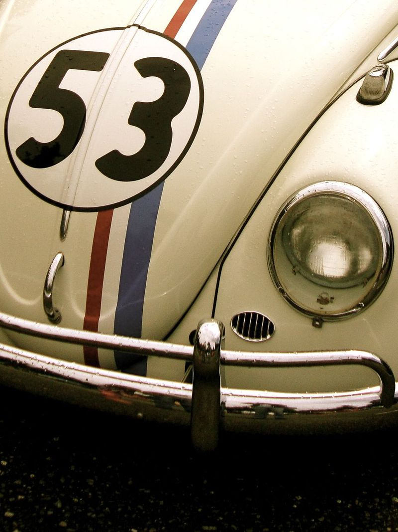 Vintage VW bug, Herbie the Love Bug, 53