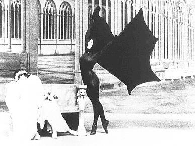 Vintage bat costume