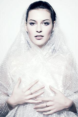Natalie Rychetnikova Bubble Wrap Fashion Photography
