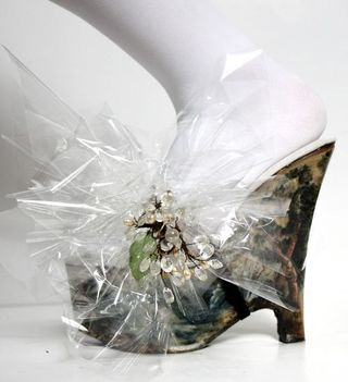 Cellophane Shoe