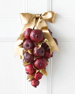 Pomegranate swag - Rosh Hashanah