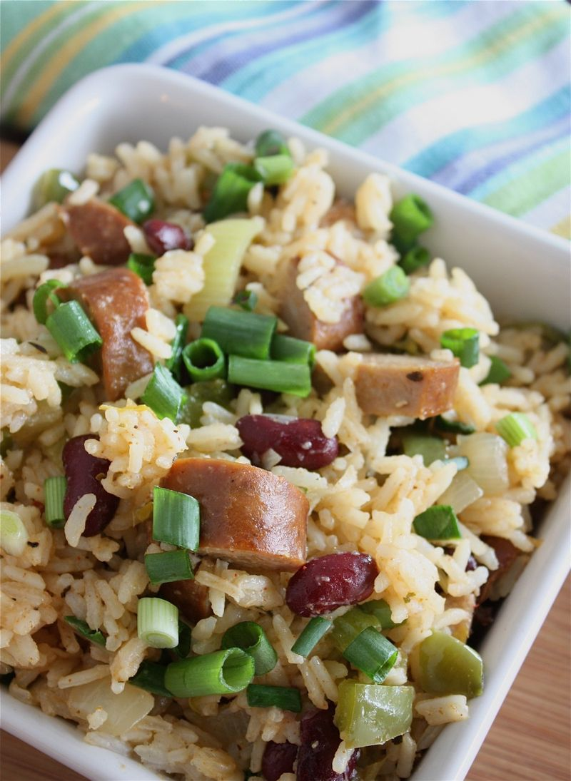 Andouille dirty rice