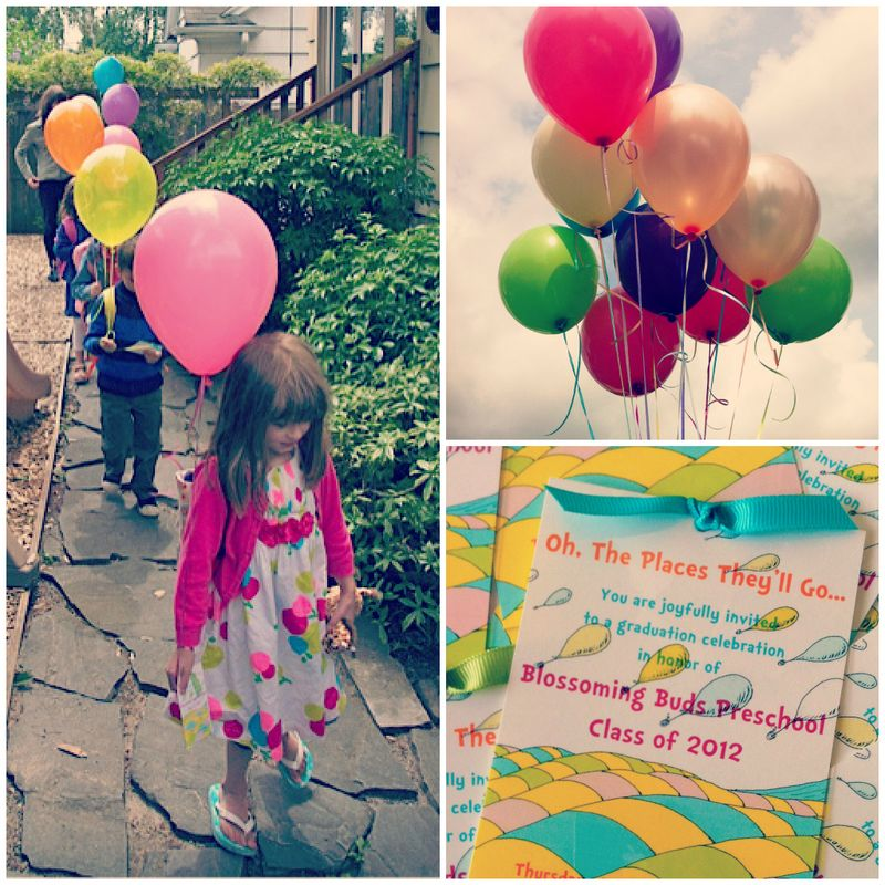 Oh, The Places You'll Go DIY Balloon Invitations