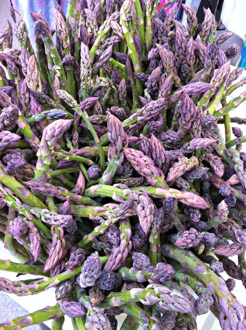 fresh asparagus