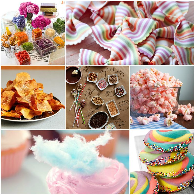 Oh, The Places You'll Go - Food Ideas
