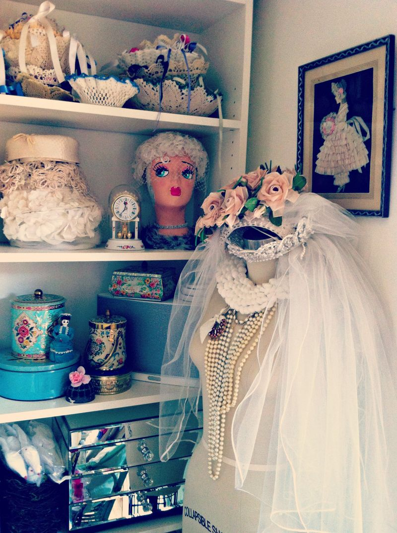 Dress form, bridal, studio, home office, craft room