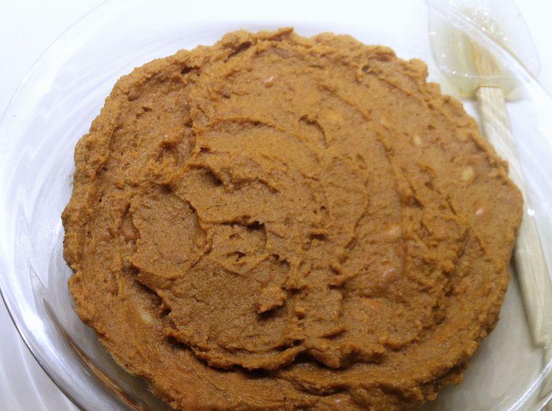 7-Layer dip - refried bean layer