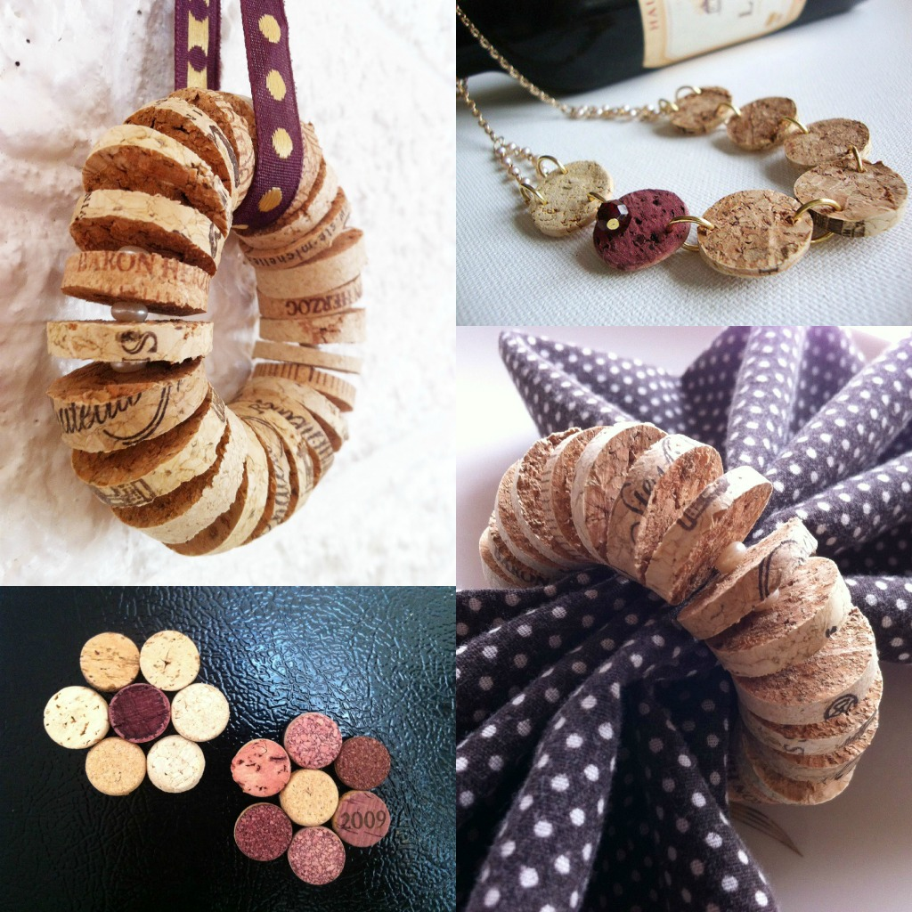 Crafts to do with wine corks - Super Cute And Easy Recycled Cork Crafts
