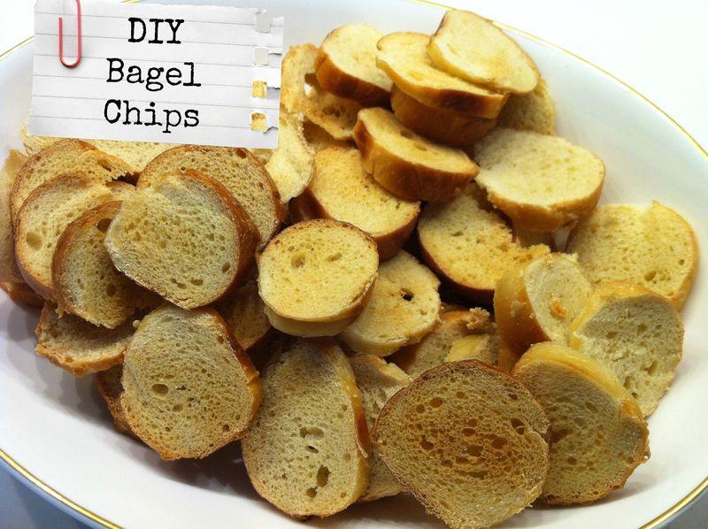 Easy DIY Bagel Chips