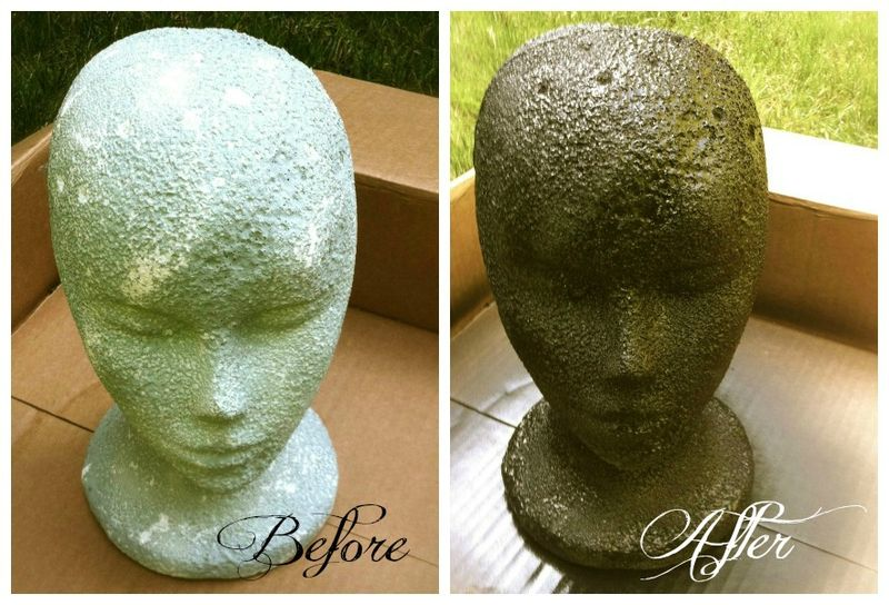 Styrofoam Head re-fashion!