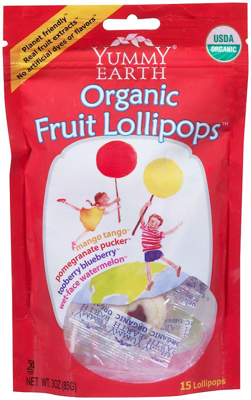Yummy Earth organic lollipops...great option for Halloween