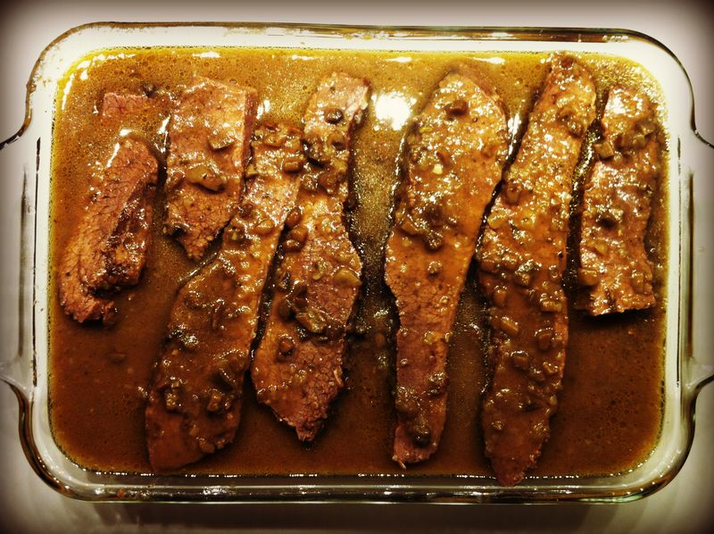 3-Ingredient Beef Brisket for Hannukah...yum!