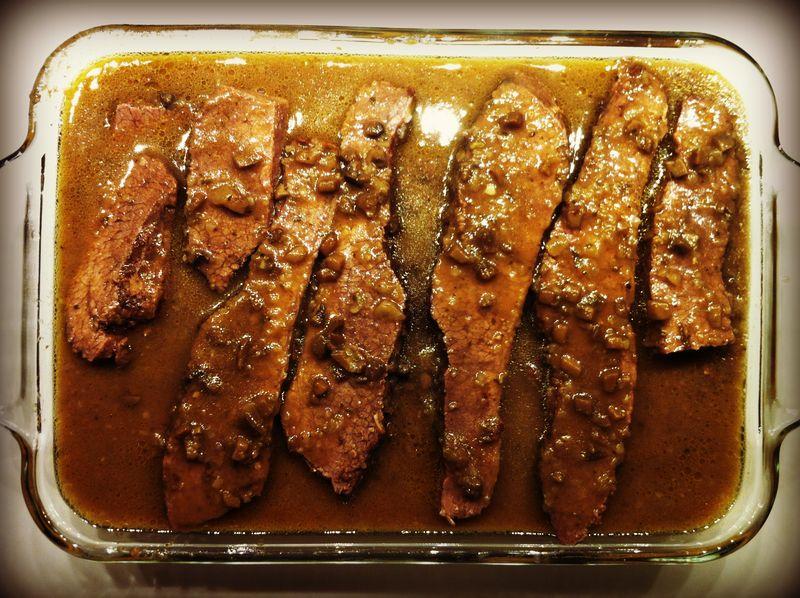 3-Ingredient Beef Brisket for Hannukah...yum!