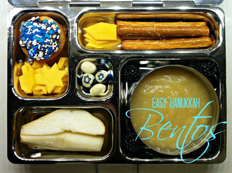 Easy Hanukkah Bento lunches...fun!