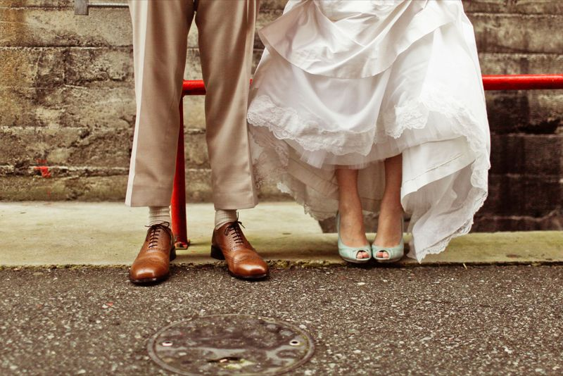 The always fun wedding feet shot.  Photo by Kaylee Eylander | http://eylanderphotography.com/