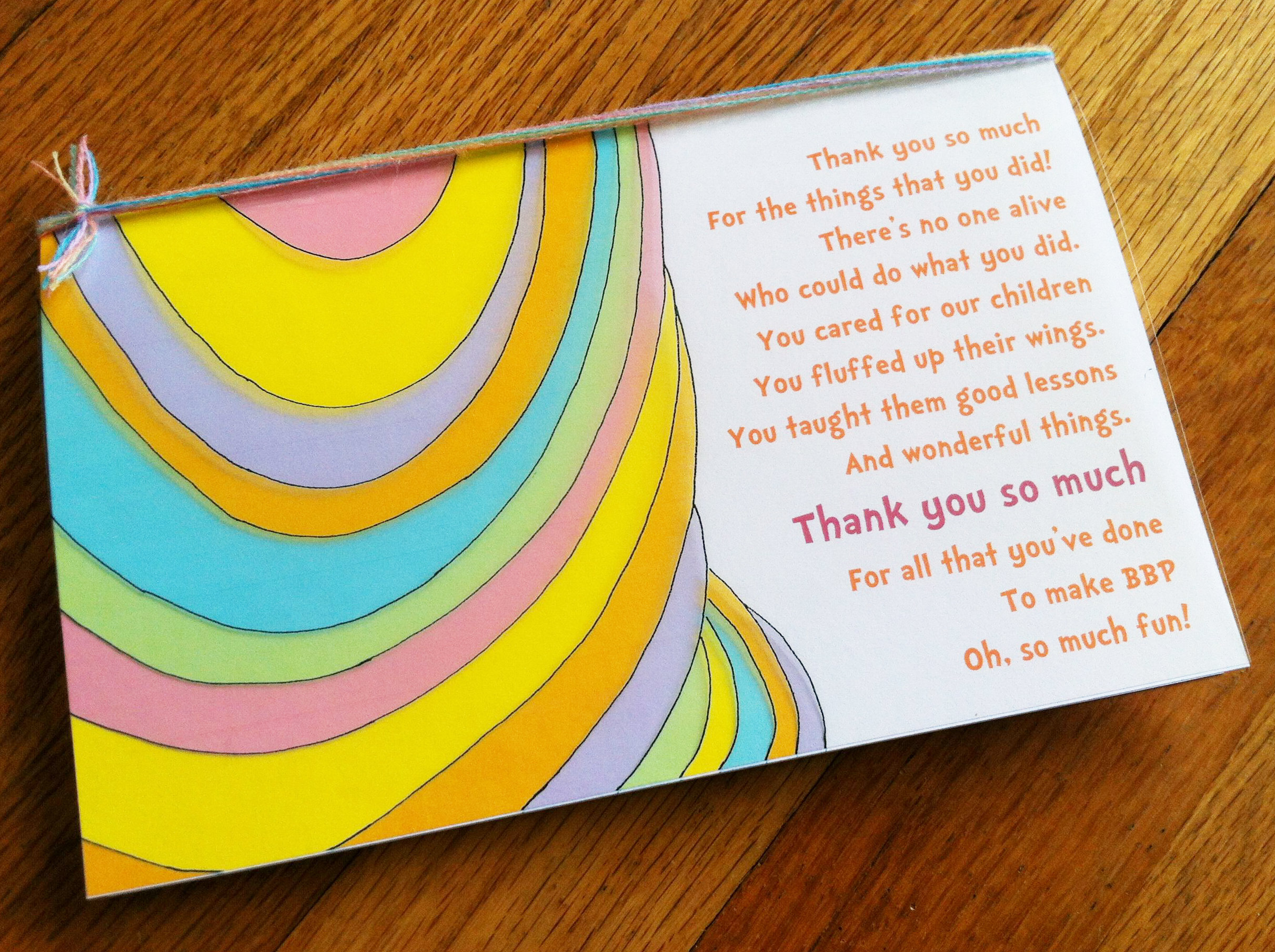 Oh The Places You Ll Go Teacher Thank You Note The Brass