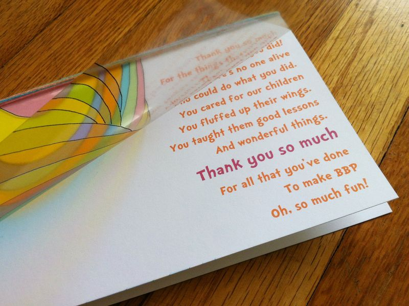 Oh The Places You'll Go Teacher Appreciation Card - free printable!