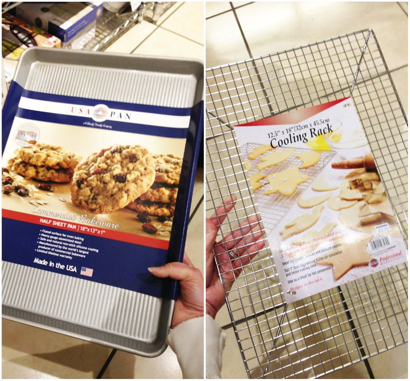 Met Market Gourmet Giveaway picks - cookie sheets and cooling racks