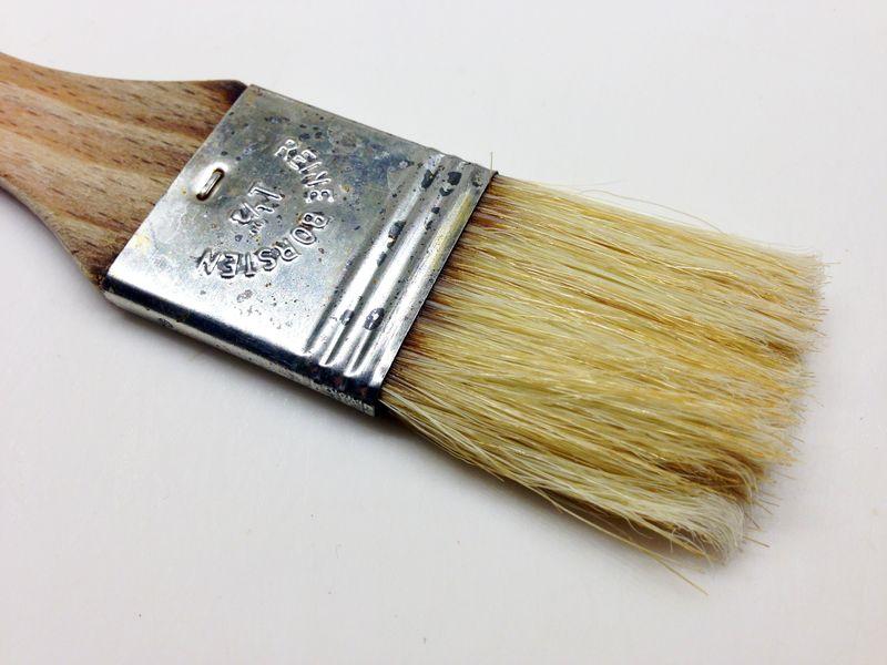 Lame basting brush.