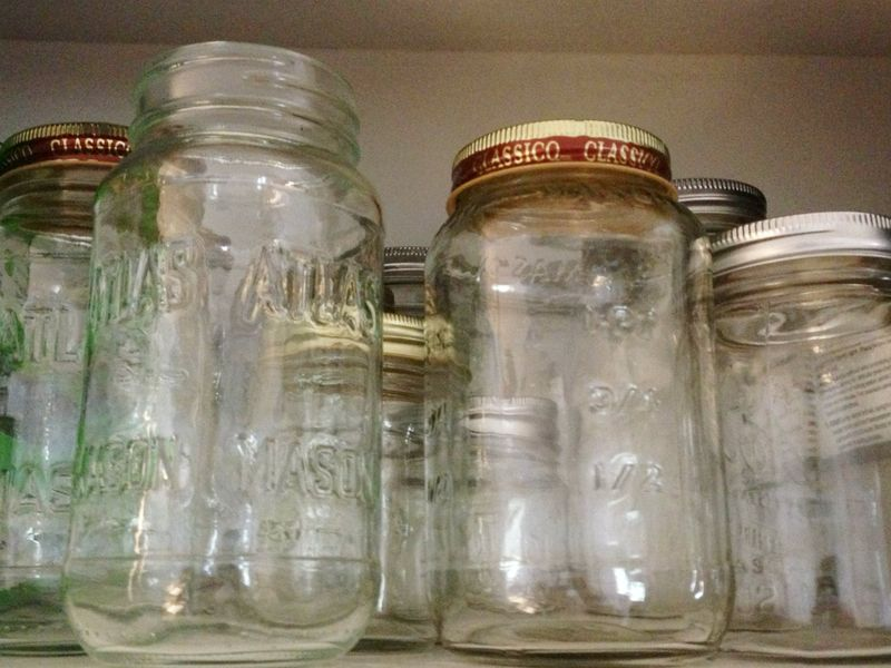 Recycled Mason Jars